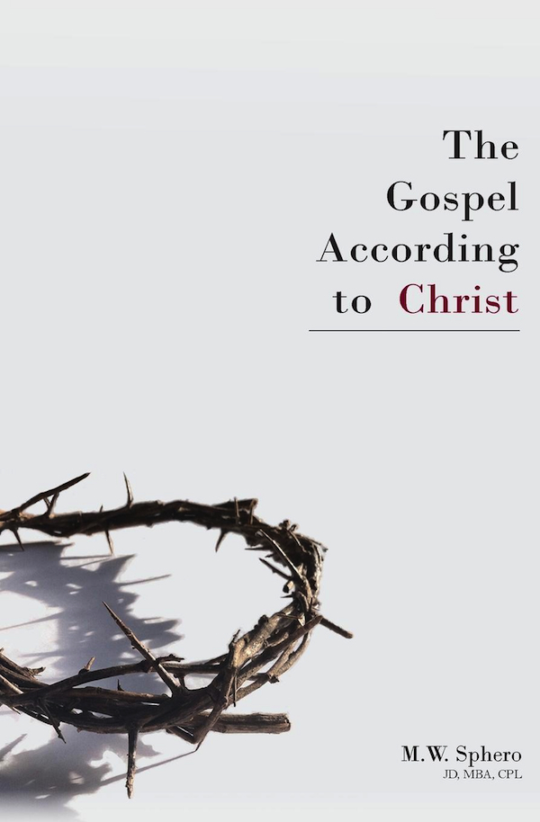 The Gospel According to Christ book cover